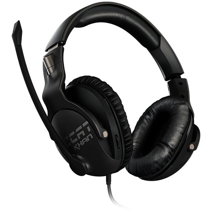 Слушалки ROCCAT Khan Pro, микрофон, честотен диапазон 10Hz-40kHz, черни image
