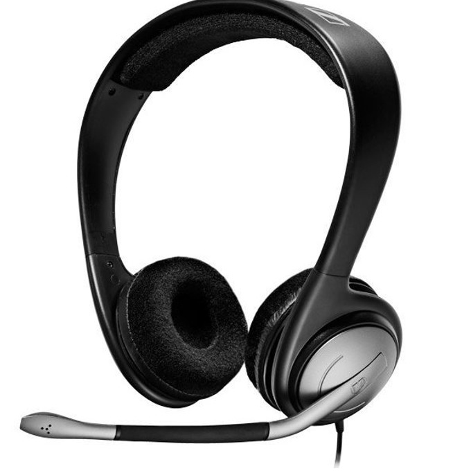 Слушалки Sennheiser PC 151, микрофон, 15Hz - 23kHz, черни image
