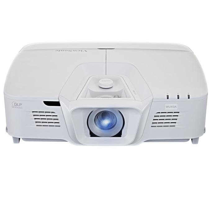 Проектор ViewSonic Pro8800WUL, DLP, WUXGA (1920x1200), 15000:1, 5200 lm, VGA, HDMI, RS232, S-Video, BNC, RCA, HDBaseT, LAN, бял image