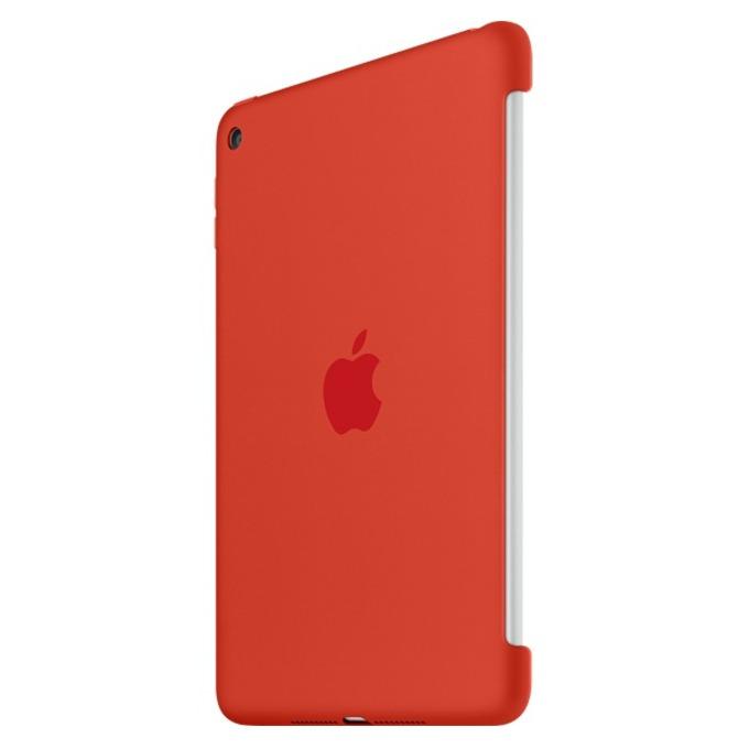 """Оригинален силиконов протектор Apple за таблет iPad mini 4, до 7.9"""" (20.07 cm), оранжев image"""