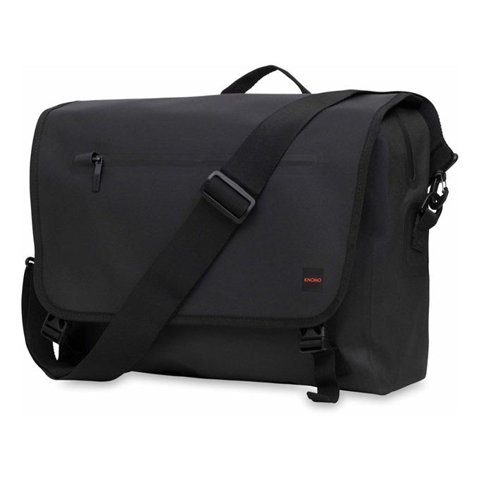 "Чанта за лаптоп Knomo Rupert Messenger, до 14"" (35.56 cm), черна image"