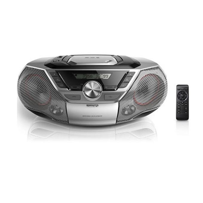 CD радиокасетофон, Philips AZ783, CD, CD-R, CD-RW, MP3-CD, WMA-CD  image