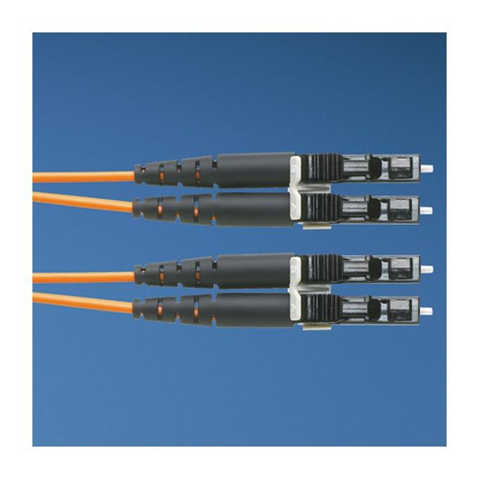 Оптичен кабел LC към LC duplex 2m Panduit 50/125