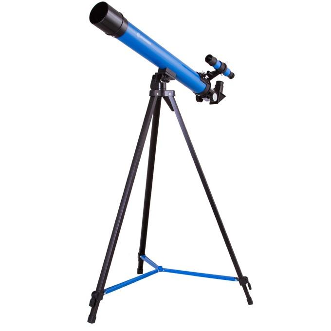 Телескоп Bresser Junior Space Explorer 45/600 AZ, 50–100x оптично увеличение, син image