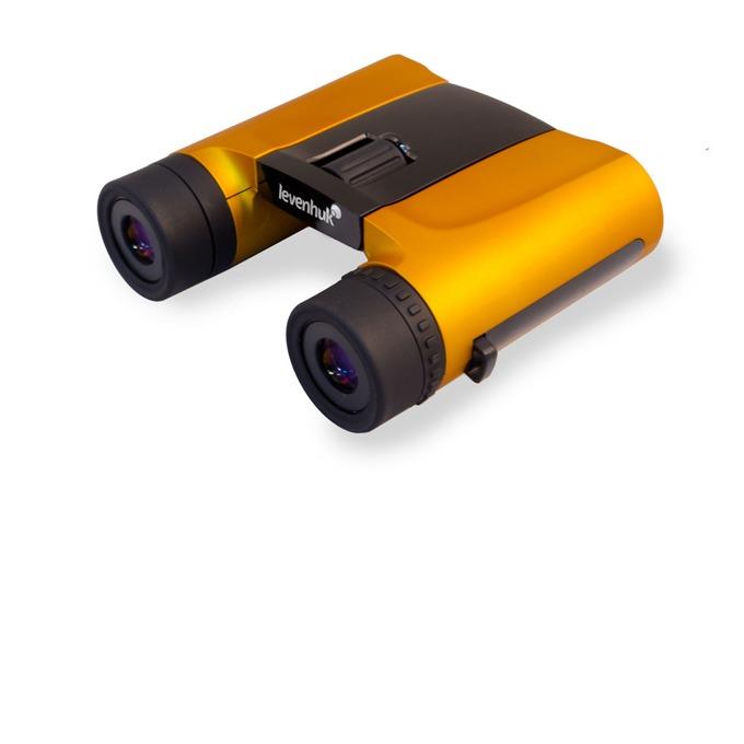 Бинокъл Levenhuk Rainbow 8x25 Orange (Портокал), 8x оптично увеличение, 25mm диаметър на лещата image