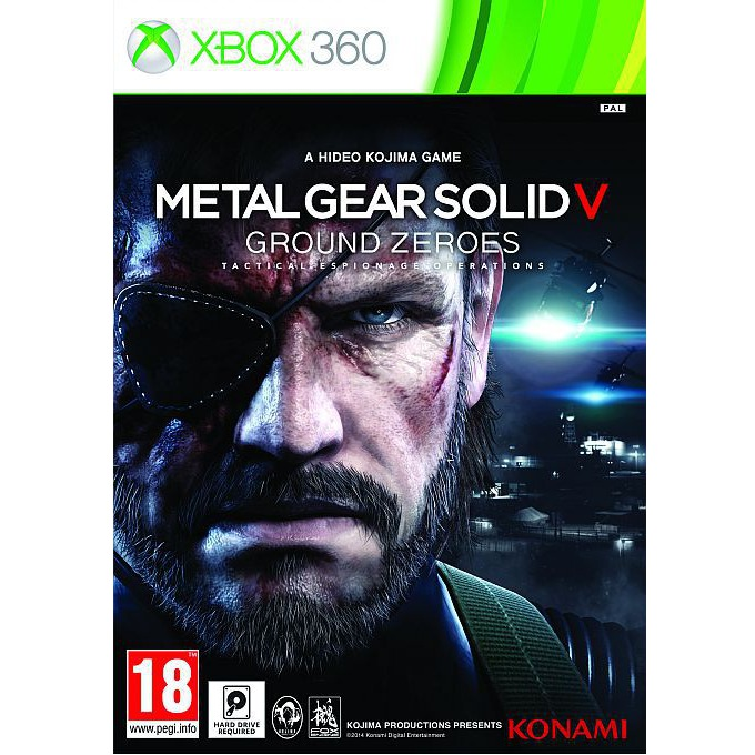Metal Gear Solid V: Ground Zeroes, за XBOX360 image