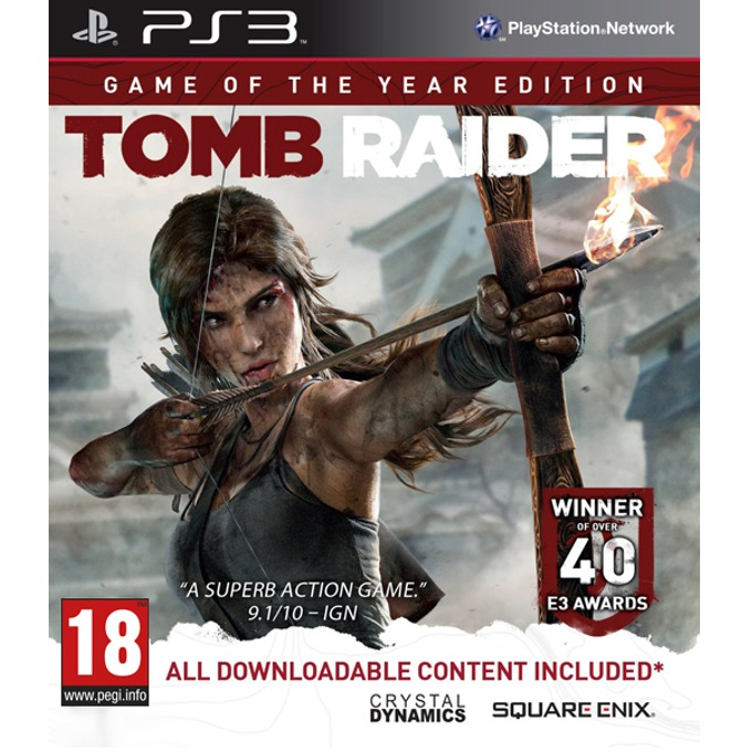 Игра за конзола Tomb Raider Game Of The Year Edition, за PlayStation 3 image