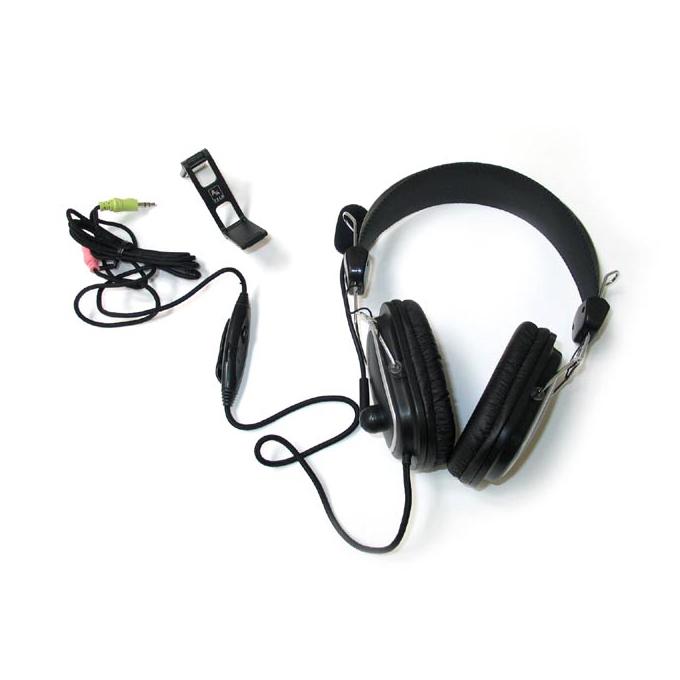 Слушалки A4Tech HS-50, микрофон, черен image