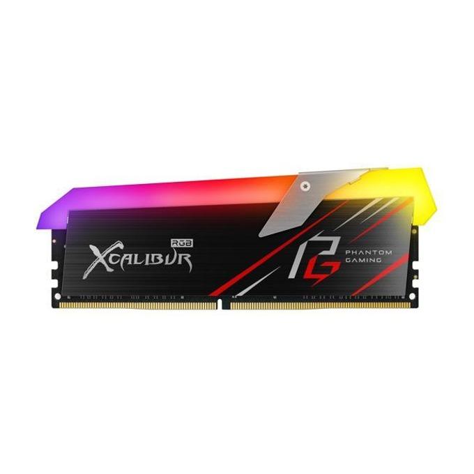 Памет 16GB (2x8GB) DDR4 3200MHz, Team Group XCALIBUR Phantom Gaming RGB, TF8D416G3200HC16CDC01, 1.35V image