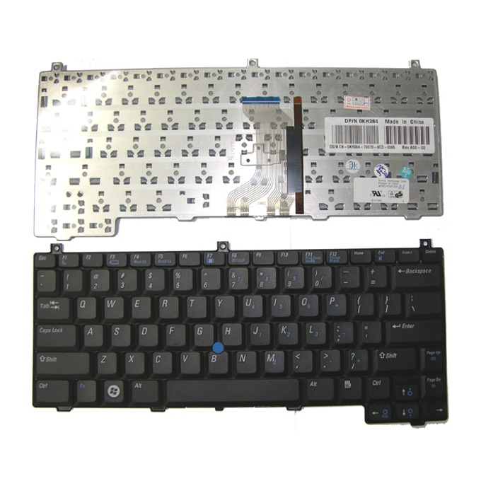 Клавиатура за Dell Latitude, съвместима с D420/D430, UK Black  image