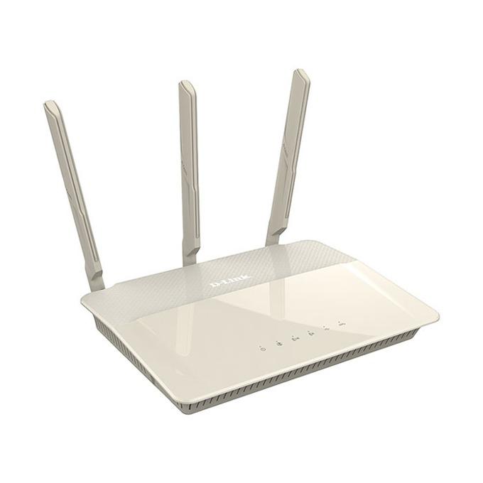 Рутер D-Link DIR-880L, 1900Mbps, 2.4GHz(600 Mbps)/5GHz(1300 Mbps), Wireless AC, 4x LAN 1000, 1x WAN 1000, 1x USB 3.0, 1x USB 2.0, 3x външни антени image