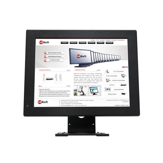 """Индустриален компютър Faytech Resistive Touch PC (FT15N2807W2G64G), 15"""" (38.1 cm) резистивен сингъл-тъч Anti-glare дисплей, двуядрен Bay Trail Intel Celeron Processor N2807 1.58/2.16 GHz, 2GB, 64GB SSD, 1x USB 3.0, Linux Ubuntu image"""