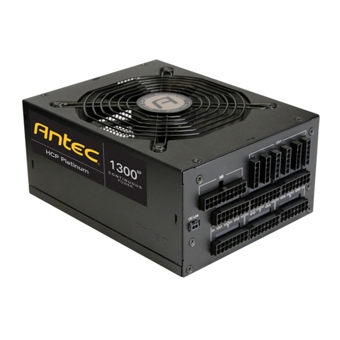 Захранване Antec High Current Pro Platinum, 1300W, Active PFC, 80+ Platinum, 135mm вентилатор image