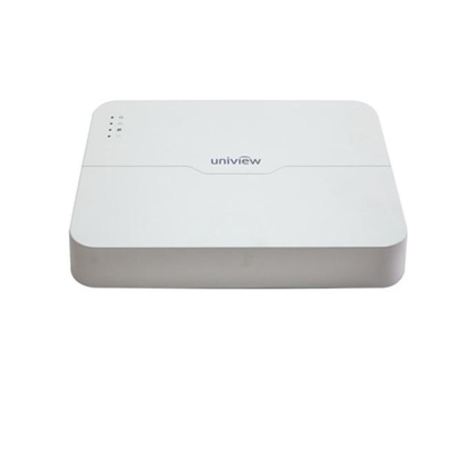 IP видеорекордер Uniview NVR201-08LP, 8 канален, 1х USB2.0, 1x USB3.0, 1x Adaptive Ethernet 100Mbps, 8x PoE 100Mbps, 1x VGA, 1x HDMI image