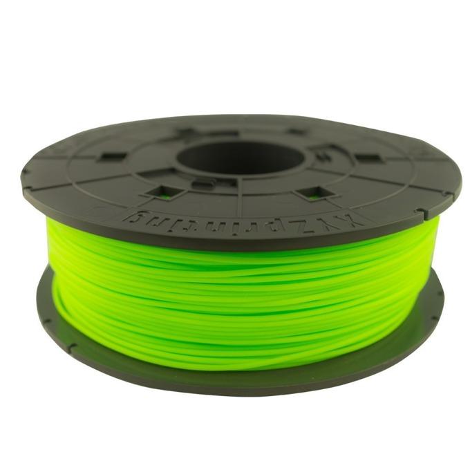 Консуматив за 3D принтер XYZprinting, PLA filament, 1.75mm, зелен неон, 600 g  image