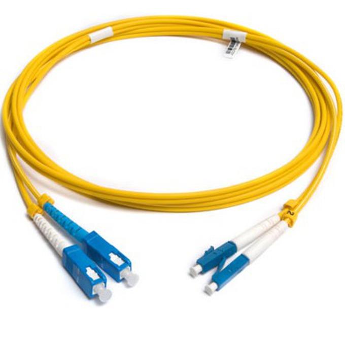 FibreFab LC/PC(м) към SC/PC(м) 1m FS-L-LC/SC-D1F
