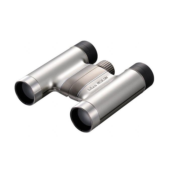 Бинокъл Nikon Aculon T51, 8x24 оптично увеличение, сребрист image