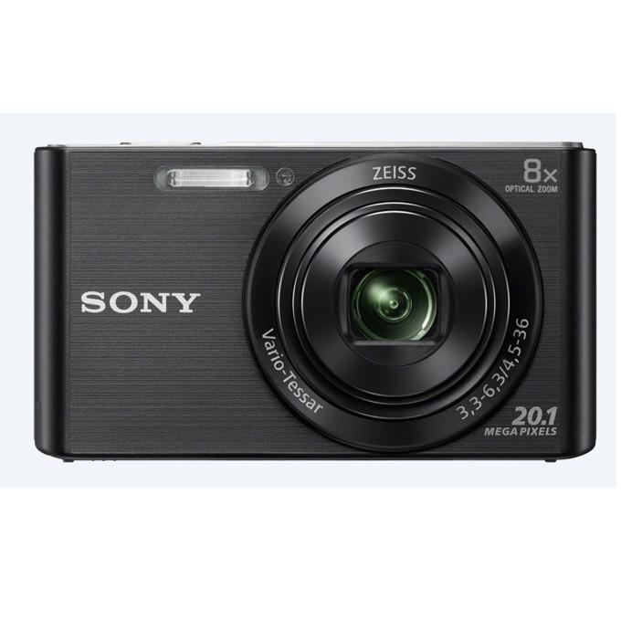 """Sony Cyber Shot DSC-W830 (черен), 8xOptical zoom, 20.1Mpix, 2.7"""" (6.86cm) екран, SDHC/SDXC, USB image"""