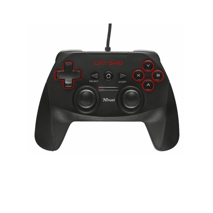 Гейм пад Trust GXT 540, 13 бутона, USB, (черен) image