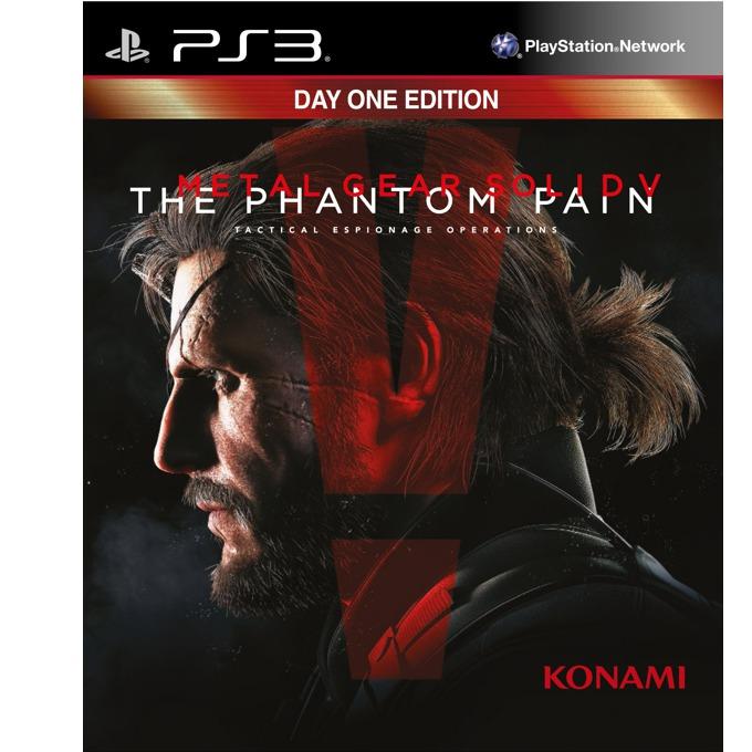 Metal Gear Solid V: The Phantom Pain, DLC: Adam-ska, Personal Ballistic Shield, Cardboard Box, Metal Gear Online XP Boost; за PS3 image