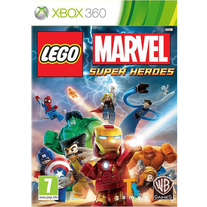 Игра за конзола LEGO Marvel Super Heroes, за XBOX360 image