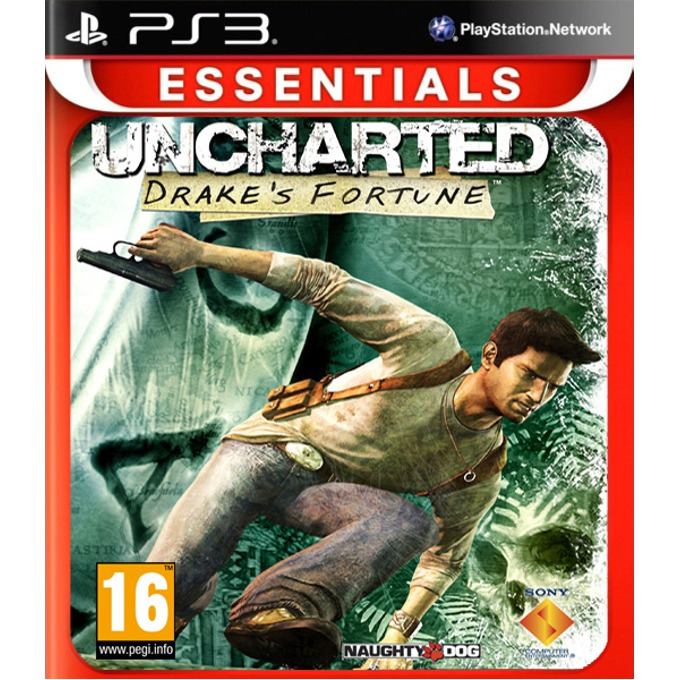 Игра за конзола Uncharted: Drakes Fortune - Essentials, за PlayStation 3 image