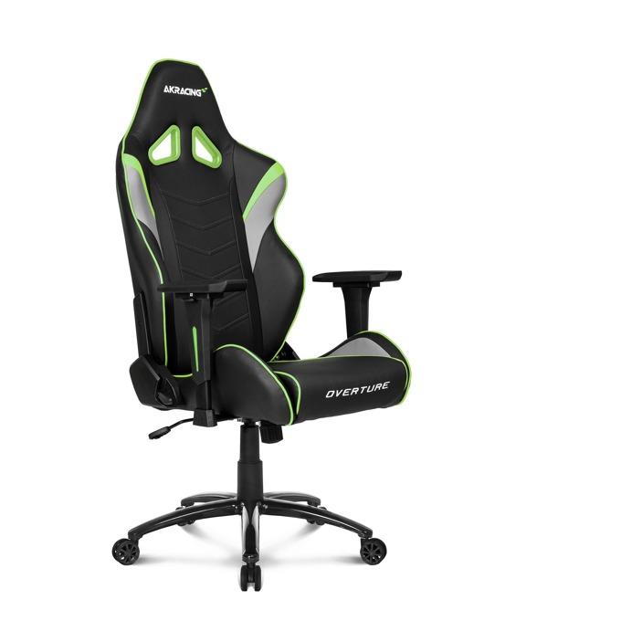 Геймърски стол AKRACING Overture, зелен image