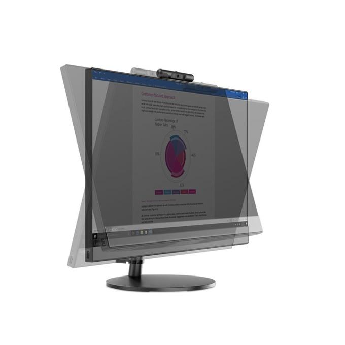 "All In One компютър Lenovo AIO V530 (10UW000ABL/3), четириядрен Coffee Lake Intel Core i5-8400T 1.7/3.3 GHz, 23.8"" (60.45 cm) Full HD Anti-Glare Display, 8GB DDR4, 1TB HDD, 1x USB 3.1, клавиатура и мишка, Free DOS image"