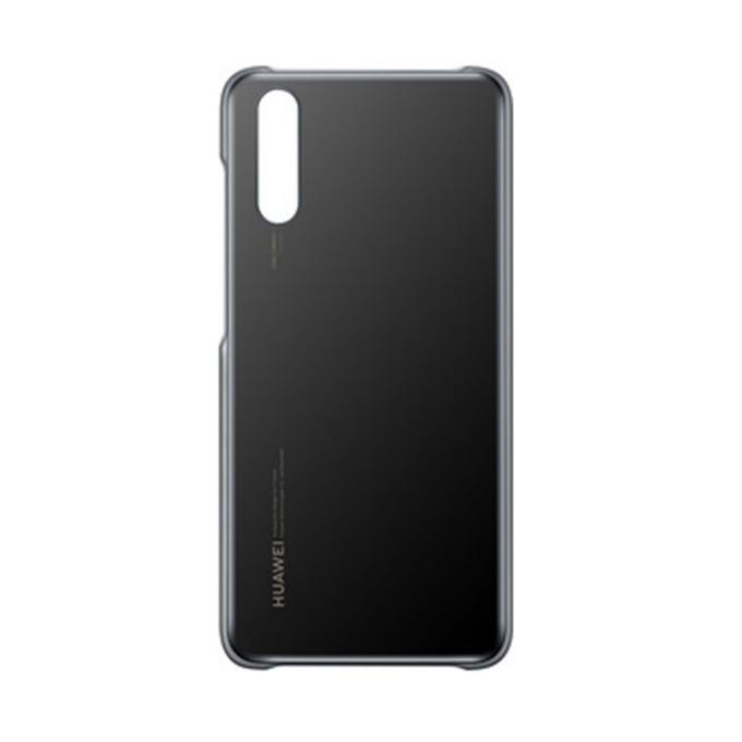Калъф Huawei Color Case за Huawei P20, поликарбонатов, удароустойчив, черен image