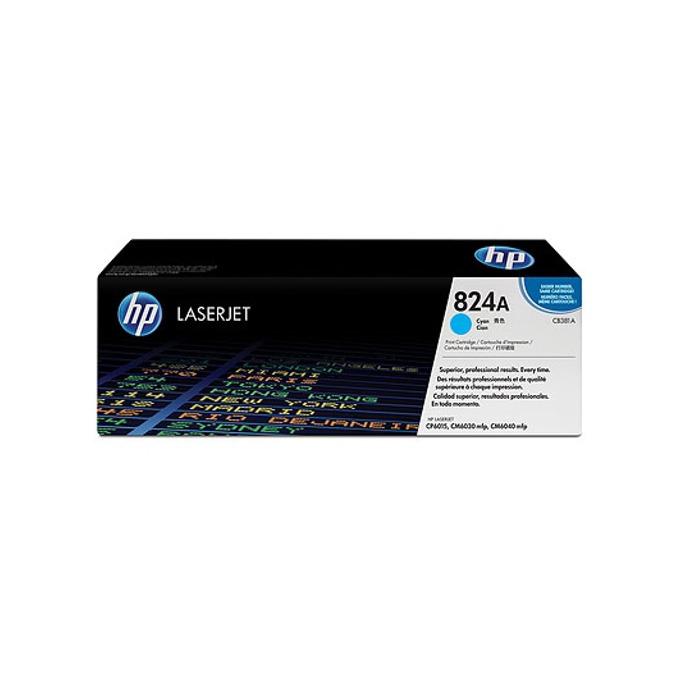 КАСЕТА ЗА HP COLOR LASER JET CP6015/CM6040MFP - Cyan - P№ CB381A - заб.: 21000k image