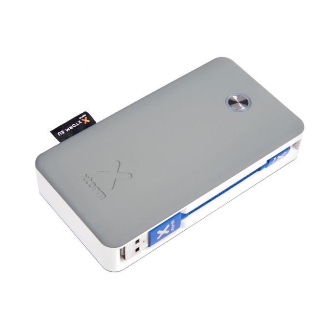 Външна батерия /power bank/ A-solar Xtorm XB200 Power Bank Travel Quick Charge 3.0, 6700 mAh, сива image
