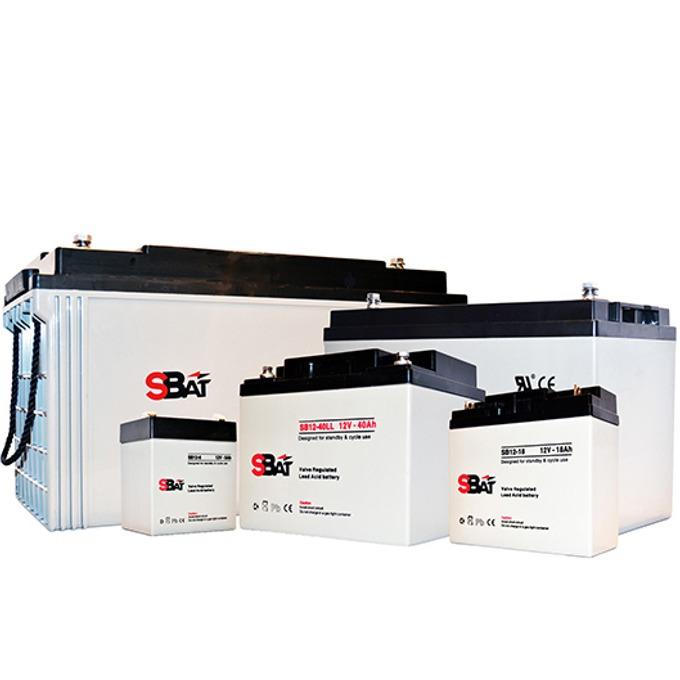 Акумулаторна батерия SBat SB12-120LL, 12V, 120Ah image