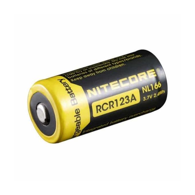 Акумулаторна батерия Nitecore NL166, 3.7V, 650mAh, Li-ion, защитена, 1 бр. image