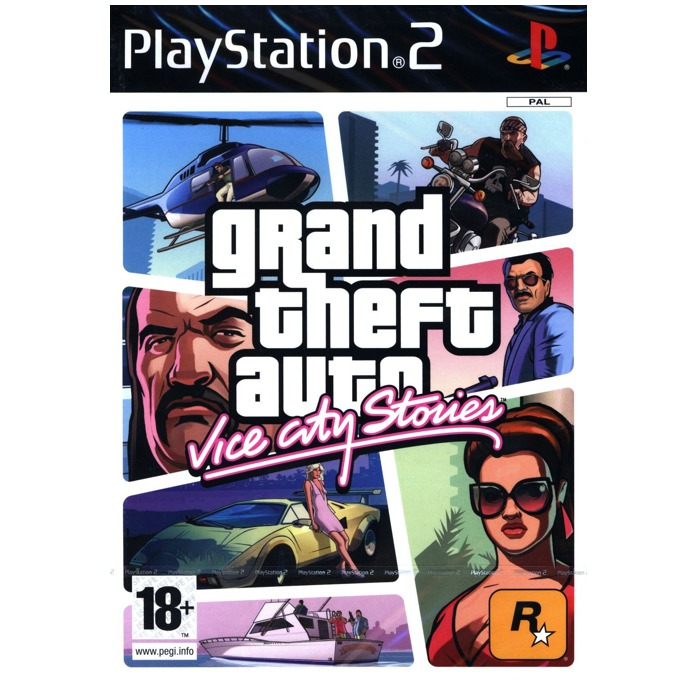 Игра за конзола Grand Theft Auto: Vice City Stories, за PS2 image