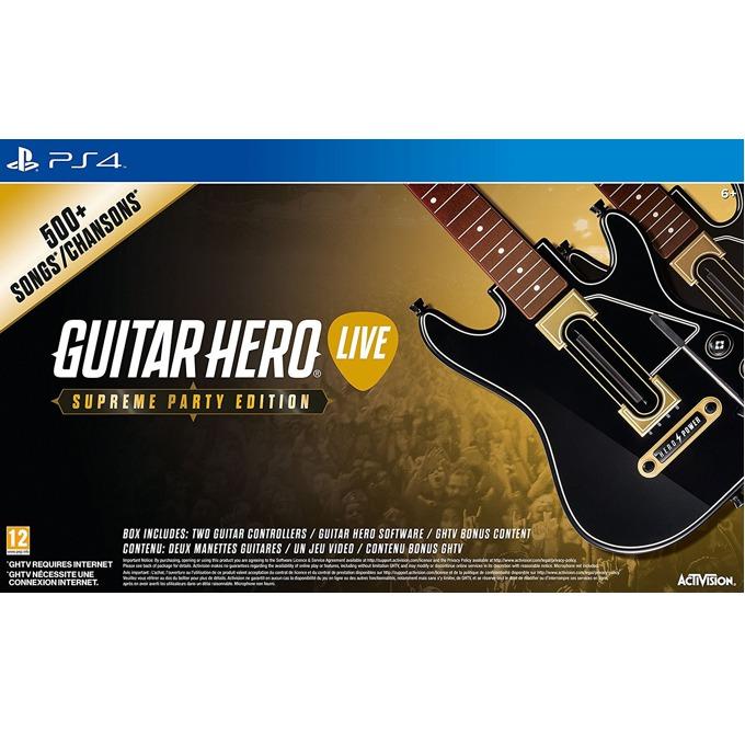 Игра за конзола Guitar Hero Live - Supreme Party Edition, за PS4 image