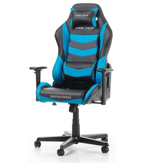 Геймърски стол DXRacer Drifting OH/DM166/NB, черен/син image