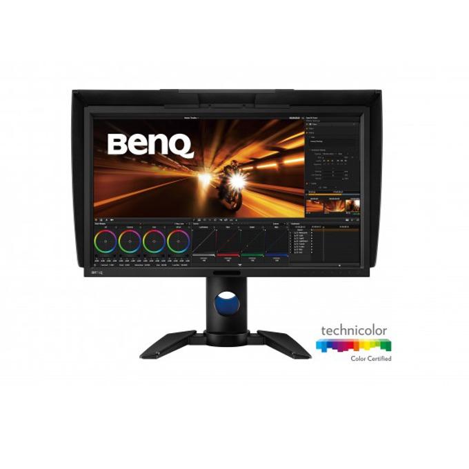 """Монитор BenQ PV270 (9H.LEJLB.QBE), 27"""" (68.58 cm), IPS панел, WQHD, 5ms, 20 000 000:1, 250 cd/m², Display Port, mDP, HDMI, DVI, USB image"""