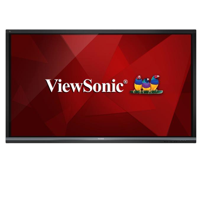 "Интерактивен дисплей Viewsonic IFP8650, 86""(218.44 cm), 4K UHD, VGA, HDMI, DisplayPort, RS232, SPDIF, USB, черен image"