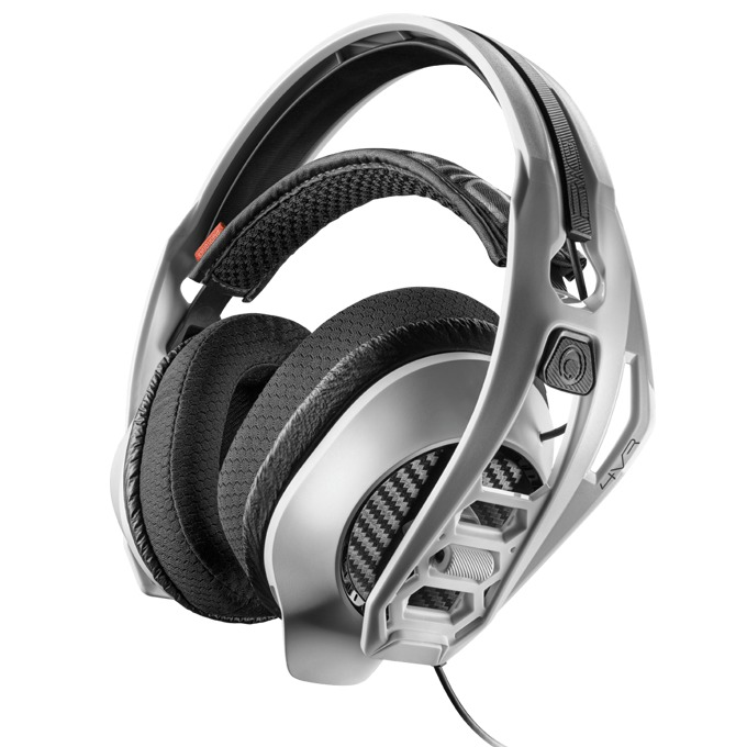 Слушалки Plantronics RIG 4VR, сваляем микрофон, гейминг, 20-22000 Hz, проектирани за PLAYSTATION VR, сребристи image