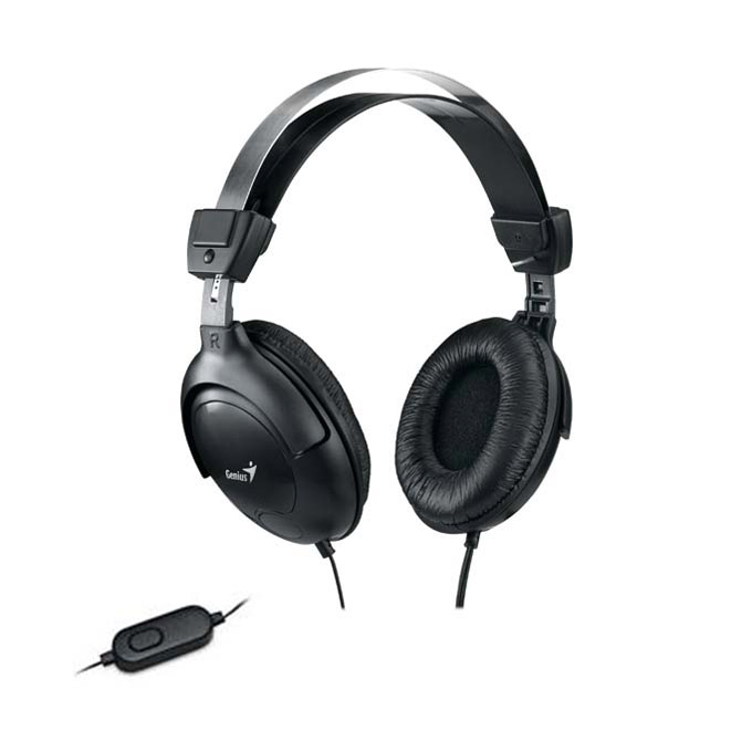 Слушалки Genius HS-505X черни микрофон