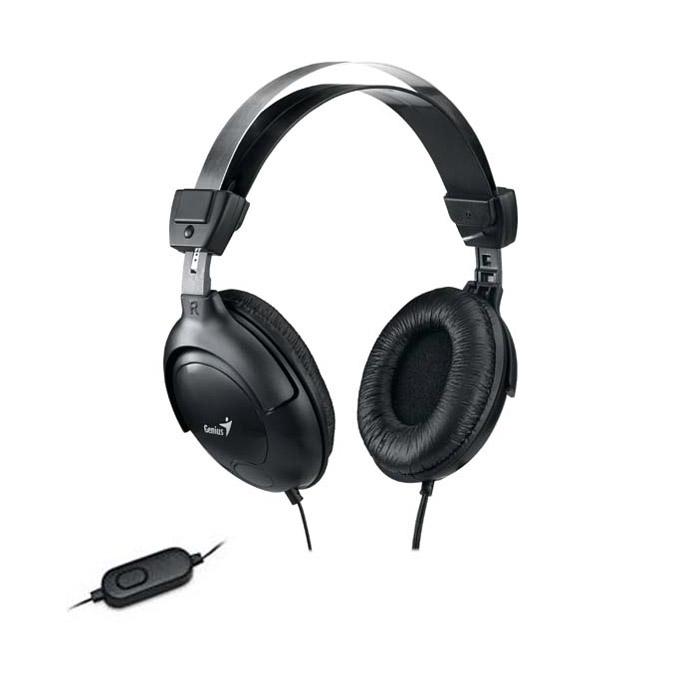 Слушалки Genius HS-505X, черни, микрофон image
