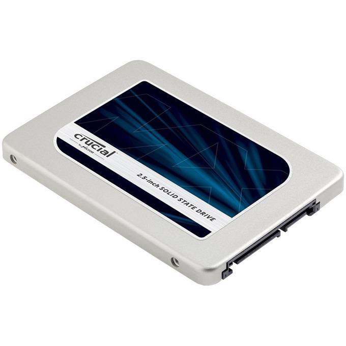 """Памет SSD 275GB Crucial MX300, SATA 6Gb/s, 2.5""""(6.35 cm), скорост на четене 530MB/s, скорост на запис 500MB/s image"""