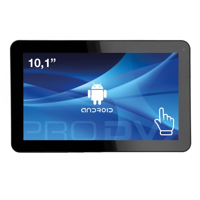 "All in One компютър ProDVX APPC-10DSQP, четириядрен Cortex A9 1.6 GHz, 10.1"" (25.65 cm) WXGA LED Capacitive Multi Touch Display & MALI 400, 2GB DDR3, 8GB Flash ROM, USB 2.0, Android 6.0 image"