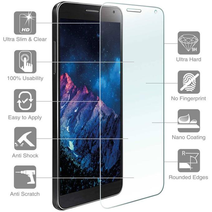 Протектор от закалено стъкло /Tempered Glass/, 4Smarts за Galaxy C7 image