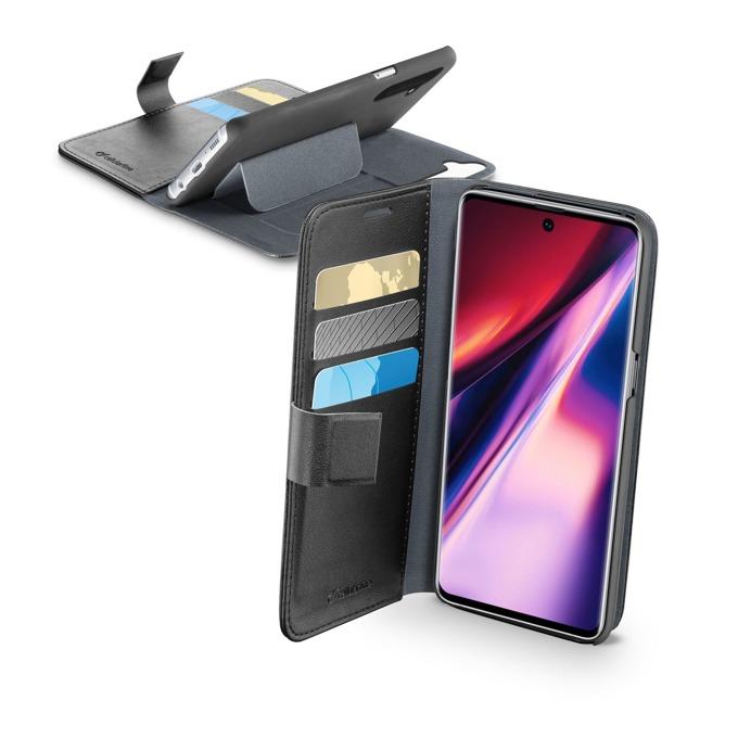 Калъф за Samsung Galaxy Note 10, тип портфейл, еко кожа, Cellular Line Book Agenda, черен image