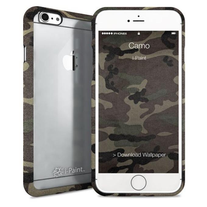 Протектор iPaint Camo Ghost Case за iPhone 6/6s, TPU рамка image