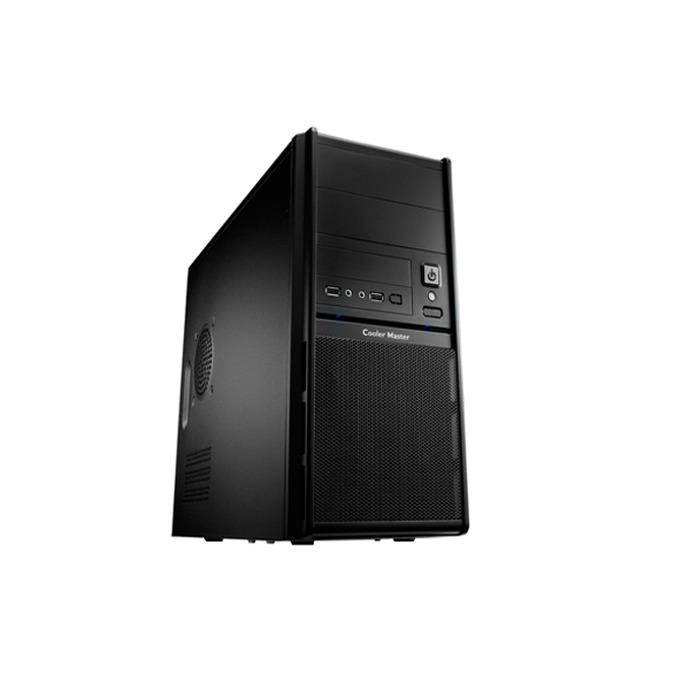 Кутия CoolerMaster Elite 342, Micro-ATX, 2x USB 2.0, черна, без захранване image