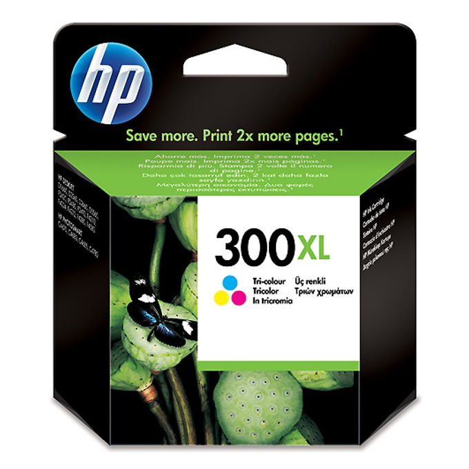ГЛАВА HEWLETT PACKARD Deskjet D2560 - Color - (300XL) - P№ CC644EE - заб.: 11ml image