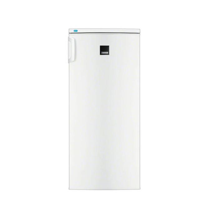 Хладилник с фризер Zanussi ZRA17800WA, клас A+, 184 л. общ обем, свободностоящ, 200 kWh/годишно, до 11 часа без захранване, бял  image