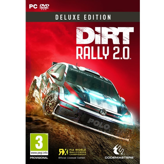 Dirt Rally 2.0 - Deluxe Edition, за PC image
